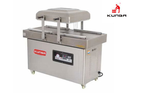 Preservation principle of double-chamber vacuum sealing machine or packaging machine